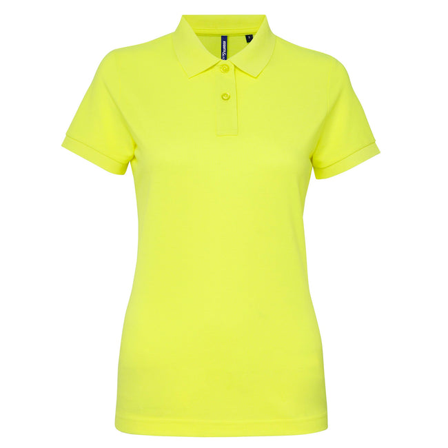 Royal - Front - Asquith & Fox Womens-Ladies Short Sleeve Performance Blend Polo Shirt