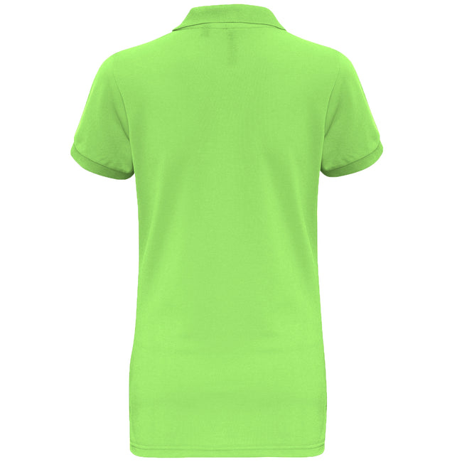 Turquoise - Front - Asquith & Fox Womens-Ladies Short Sleeve Performance Blend Polo Shirt