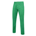 Kelly Green - Front - Asquith & Fox Mens Slim Fit Cotton Chino Trousers