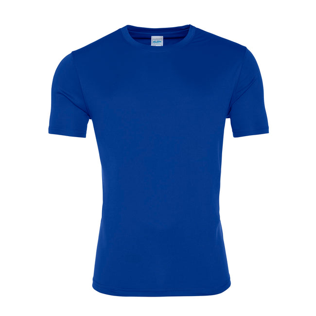Royal Blue - Front - AWDis Just Cool Mens Smooth Short Sleeve T-Shirt