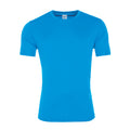 Sapphire Blue - Front - AWDis Just Cool Mens Smooth Short Sleeve T-Shirt
