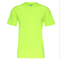 Electric Yellow - Front - AWDis Just Cool Mens Smooth Short Sleeve T-Shirt
