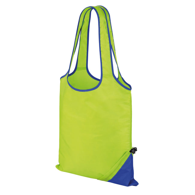 Lime-Royal - Front - Result Core Compact Shopping Bag