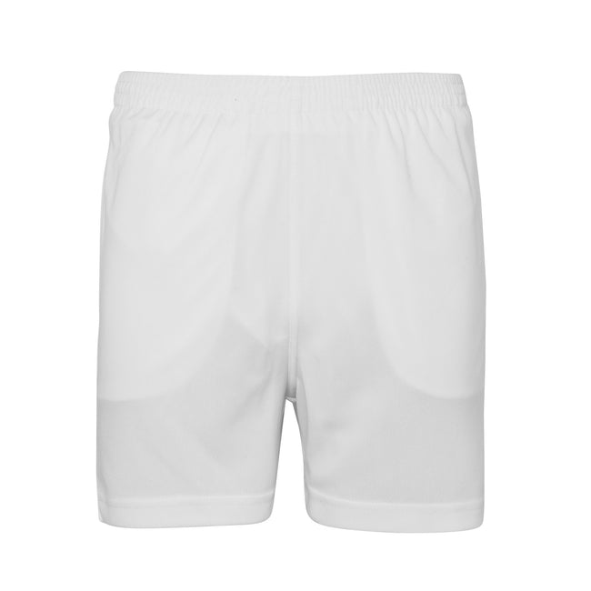 Arctic White - Front - AWDis Just Cool Childrens-Kids Sports Shorts