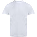 White - Front - Premier Mens Chefs Coolchecker Short Sleeve T-Shirt