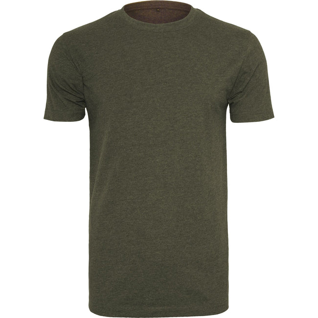 White - Front - Build Your Brand Mens T-Shirt Round Neck
