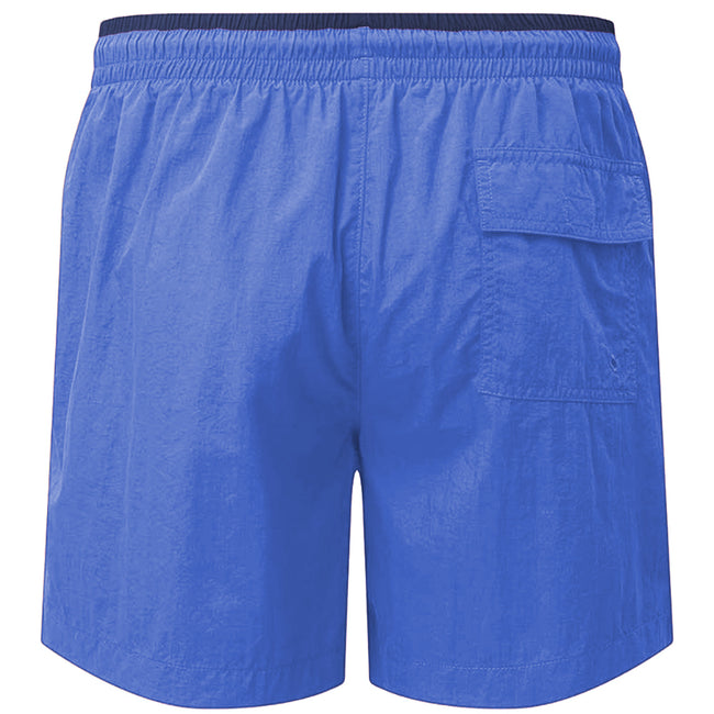 Red-Navy - Front - Asquith & Fox Mens Swim Shorts