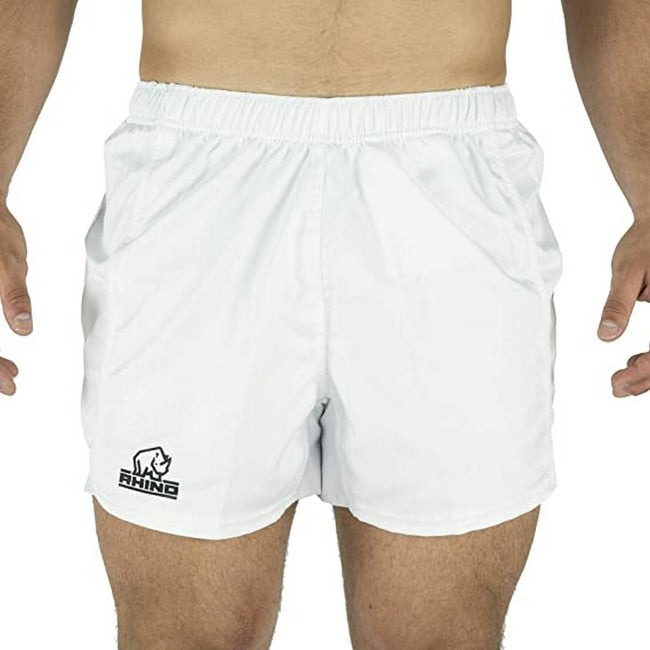 Navy - Front - Rhino Childrens-Kids Auckland Rugby Shorts