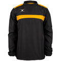 Black-Gold - Front - Gilbert Childrens-Kids Photon Warm-Up Top
