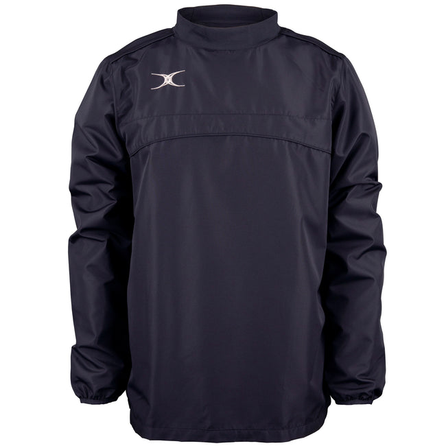 Dark Navy - Front - Gilbert Childrens-Kids Photon Warm-Up Top