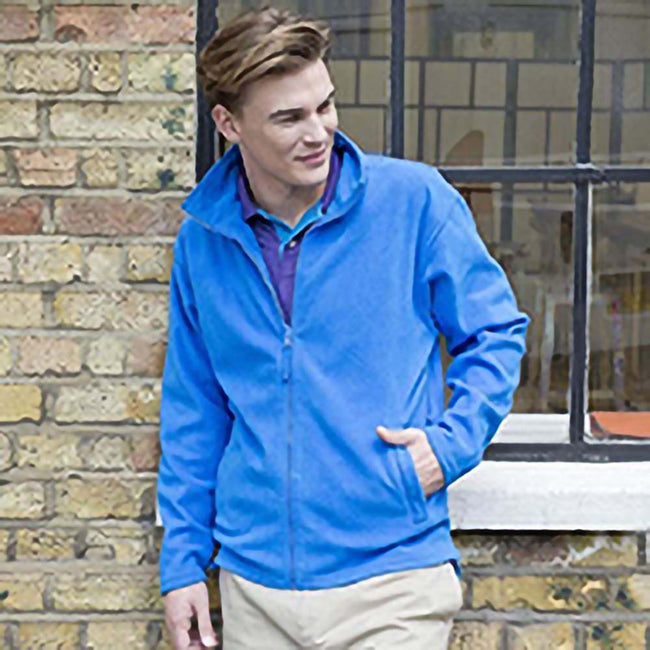 Royal - Lifestyle - Henbury Mens Microfleece Anti-Pill Jacket