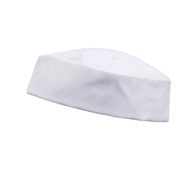 White - Front - Premier Turn-Up Chefs Hat (Pack of 2)