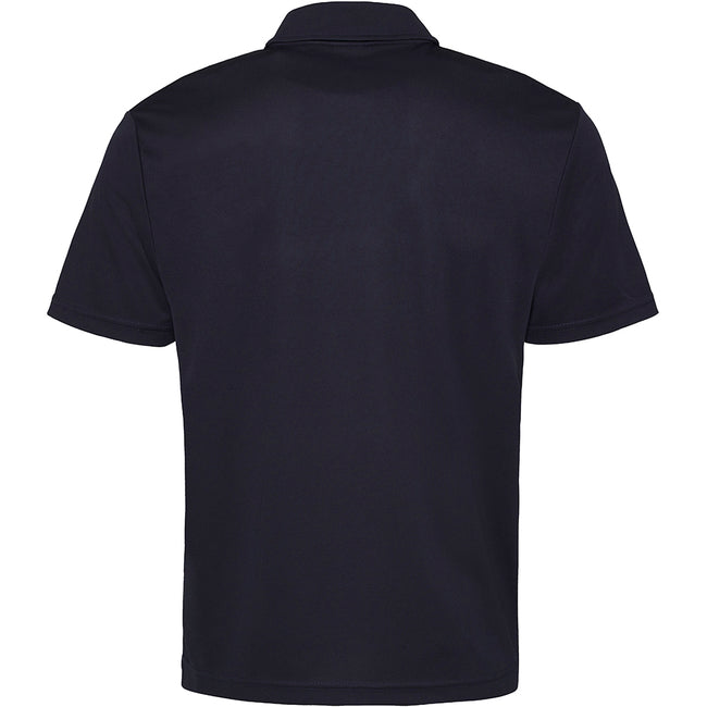 French Navy - Back - Just Cool Mens Plain Sports Polo Shirt