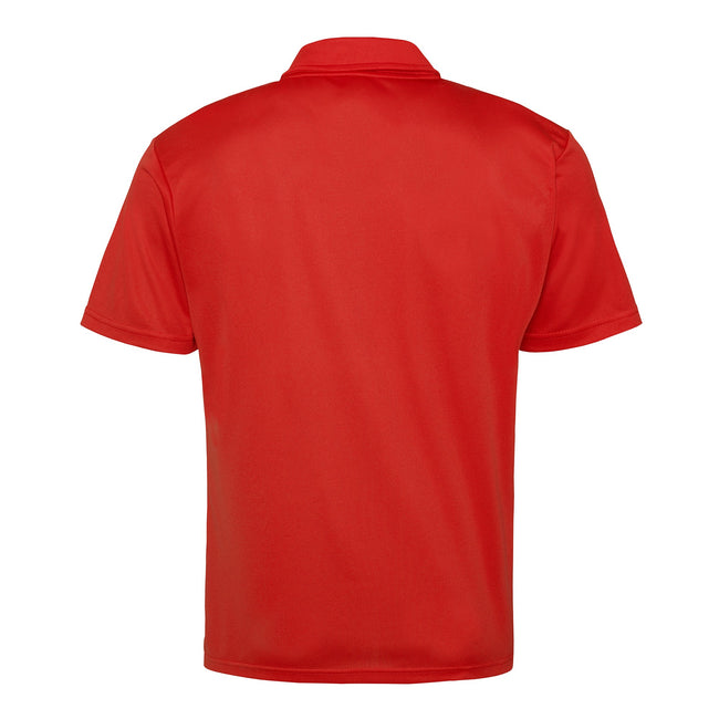Gold - Back - Just Cool Mens Plain Sports Polo Shirt