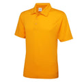 Electric Yellow - Front - Just Cool Mens Plain Sports Polo Shirt