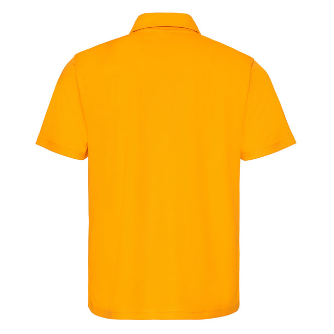 Heather Grey - Back - Just Cool Mens Plain Sports Polo Shirt