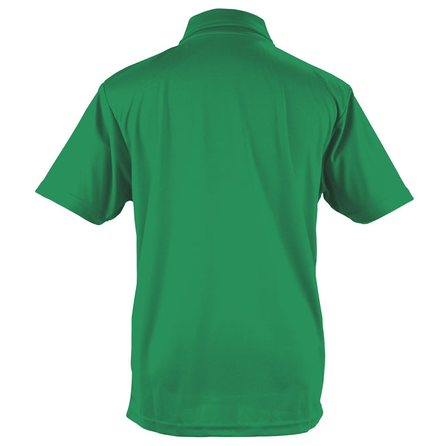 Lime Green - Back - Just Cool Mens Plain Sports Polo Shirt