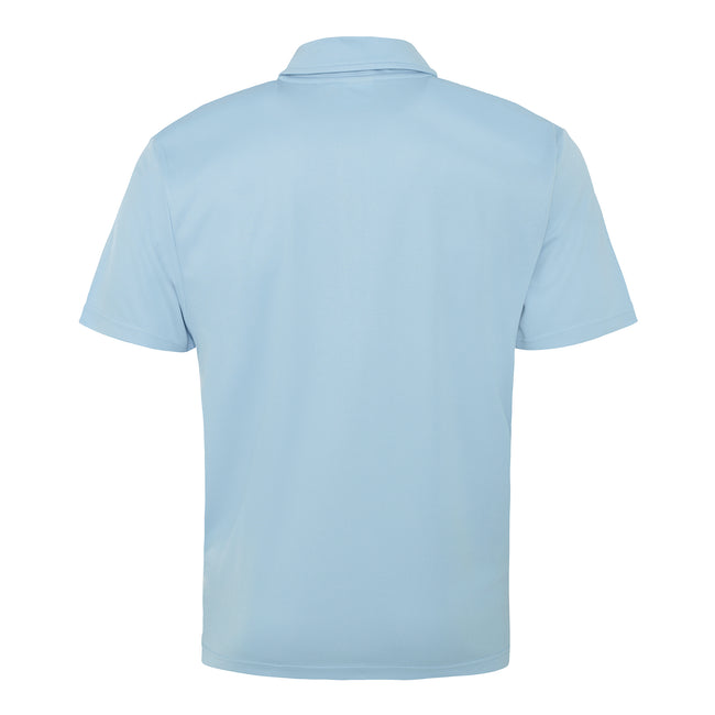 Sun Yellow - Back - Just Cool Mens Plain Sports Polo Shirt