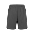 Charcoal - Back - Just Cool Mens Sports Shorts