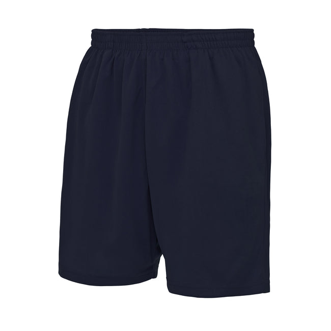 French Navy - Front - Just Cool Mens Sports Shorts