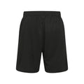 Jet Black - Back - Just Cool Mens Sports Shorts