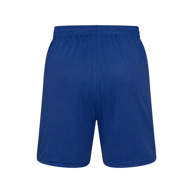 Royal Blue - Back - Just Cool Mens Sports Shorts