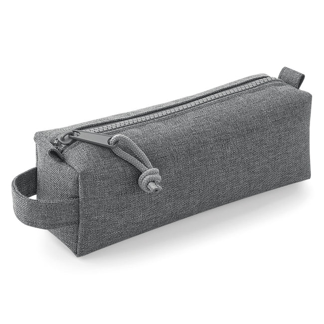 Gray Marl - Front - Bagbase Essential Pencil-Accessory Case