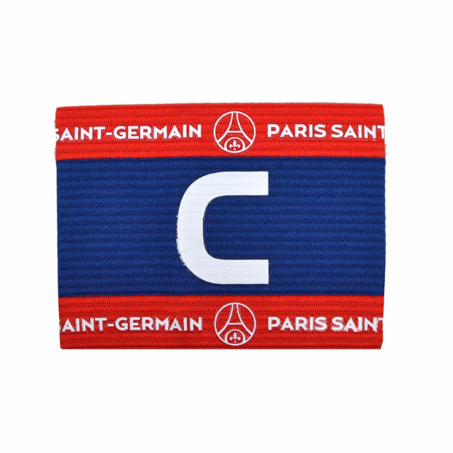 Blue-Red - Front - Paris Saint Germain FC Official Crest Design Captains Armband