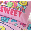 Pink - Back - Pikmi Pops Childrens-Kids So Sweet Duvet Cover Set