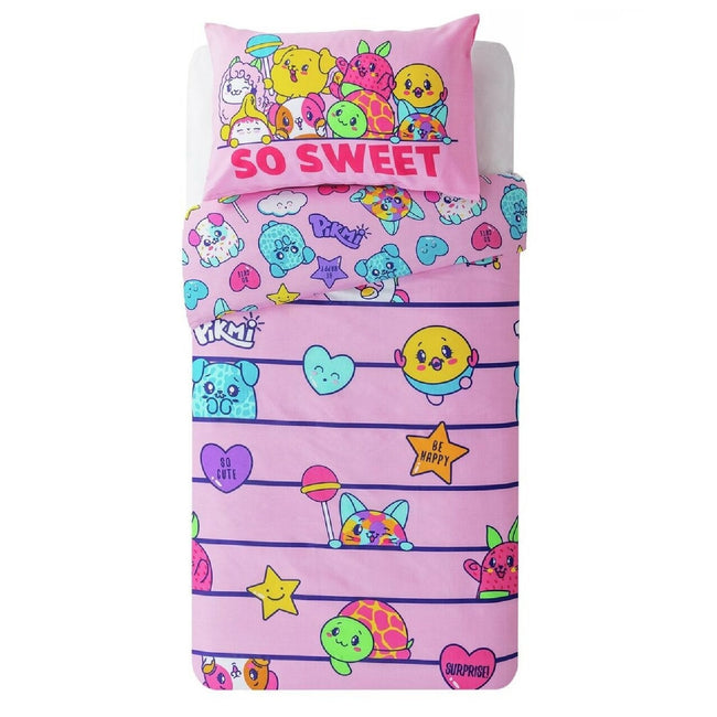Pink - Front - Pikmi Pops Childrens-Kids So Sweet Duvet Cover Set