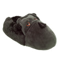 Dark Gray - Front - Slumberzzz Mens Novelty Gorilla Slippers