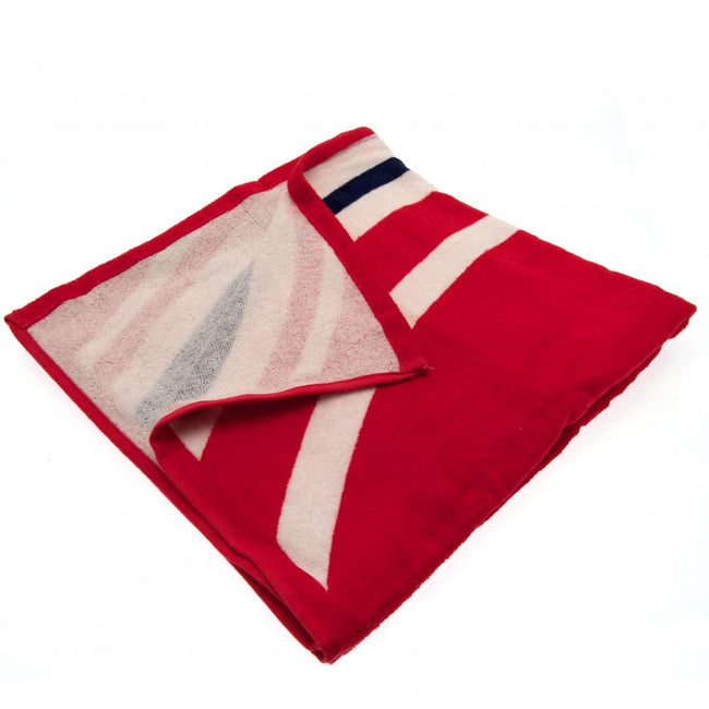 Red - Back - Arsenal FC Pulse Towel