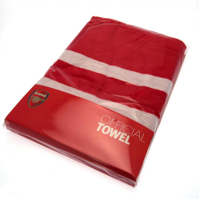 Red - Side - Arsenal FC Pulse Towel