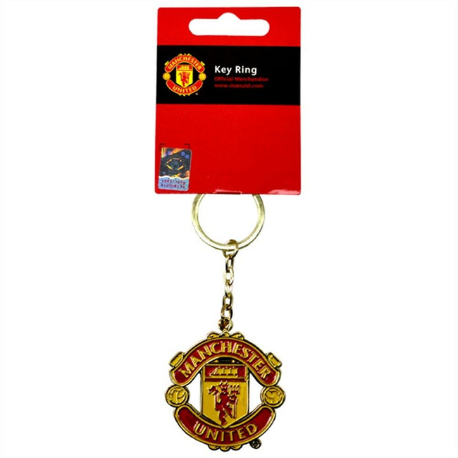 Yellow-Red - Lifestyle - Manchester United FC Keyring