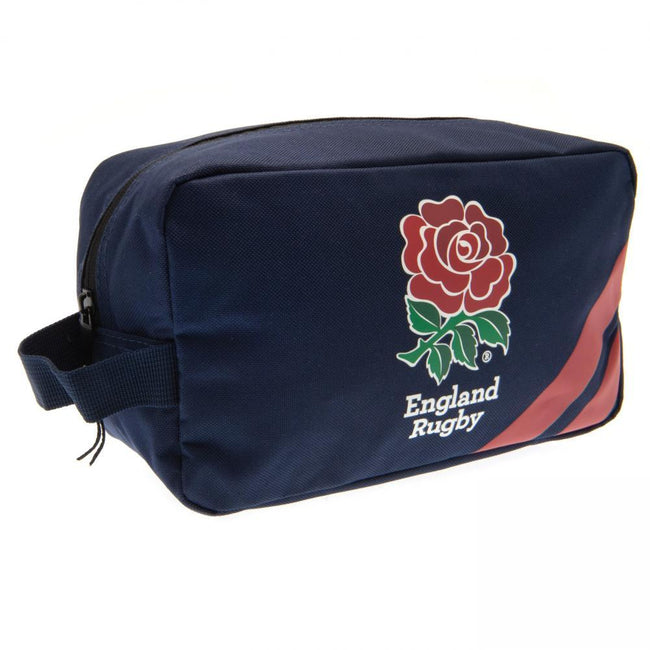 Navy-Red - Front - England RFU Wash Bag