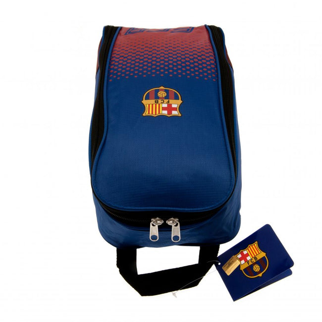 Blue-Red - Back - FC Barcelona Fade Design Boot Bag