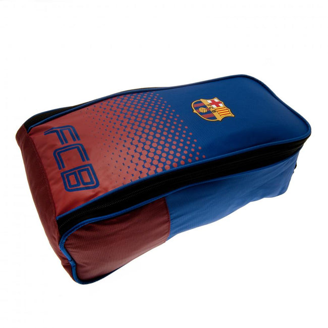 Blue-Red - Side - FC Barcelona Fade Design Boot Bag