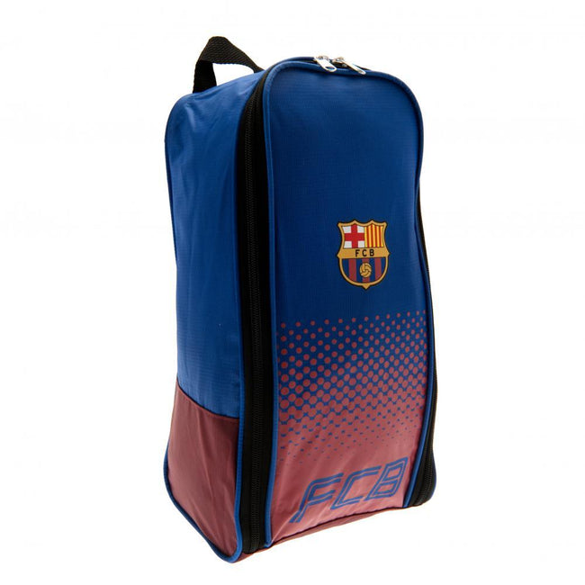 Blue-Red - Front - FC Barcelona Fade Design Boot Bag