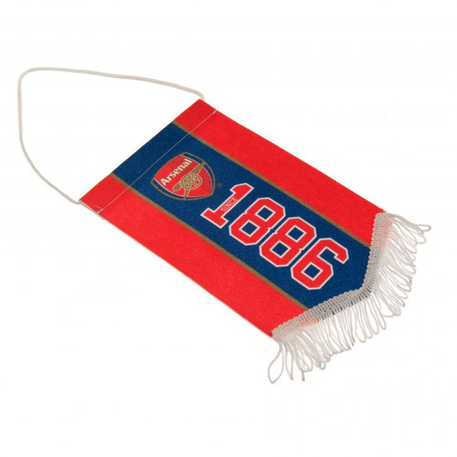 Red-Blue - Front - Arsenal FC Since Mini Pennant