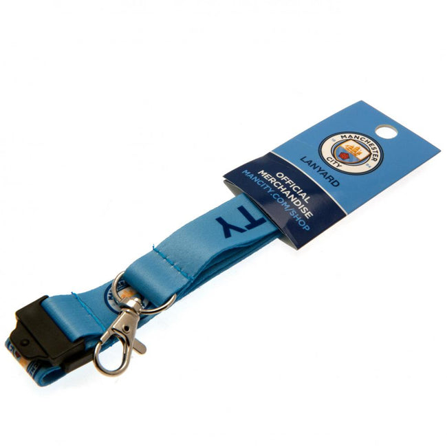 Blue - Lifestyle - Manchester City FC Lanyard