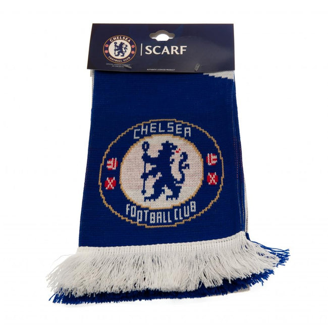 Blue-White - Front - Chelsea FC VT Scarf