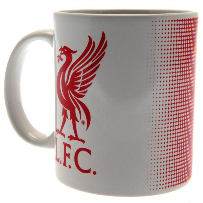 White-Red - Front - Liverpool FC Mug