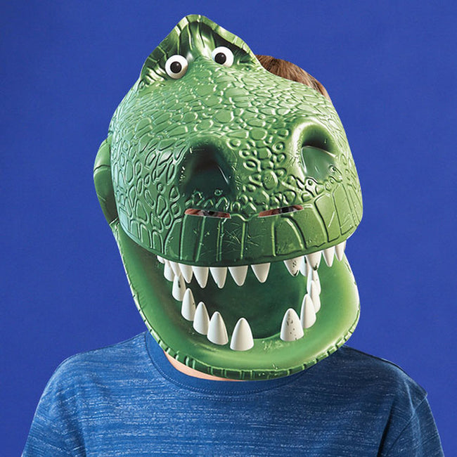 Green - Side - Toy Story Mask Rex