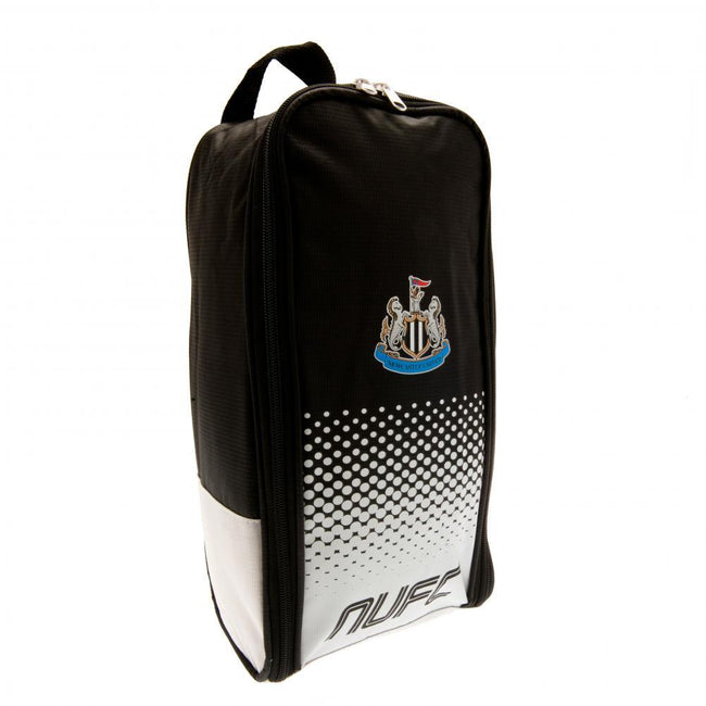 Black-White - Front - Newcastle United FC Boot Bag