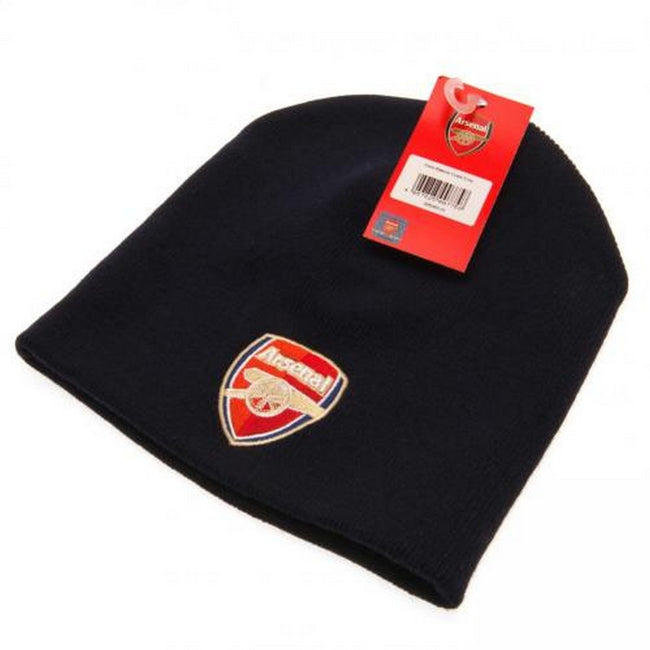 Black - Back - Arsenal FC Adults Unisex Knitted Hat