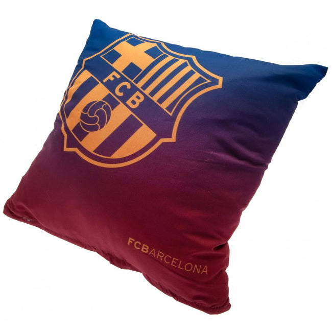 Red-Blue - Front - FC Barcelona Cushion