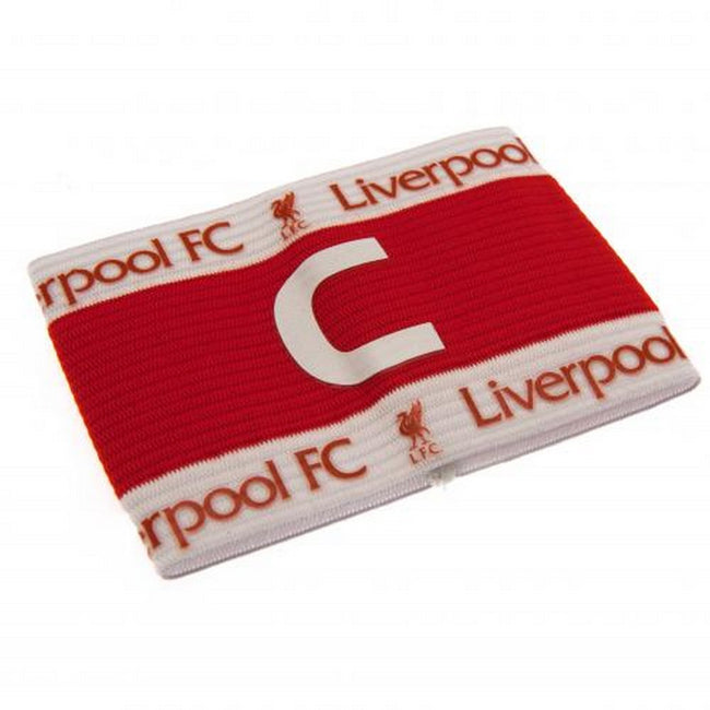 Red-White - Back - Liverpool FC Official Captains Arm Band