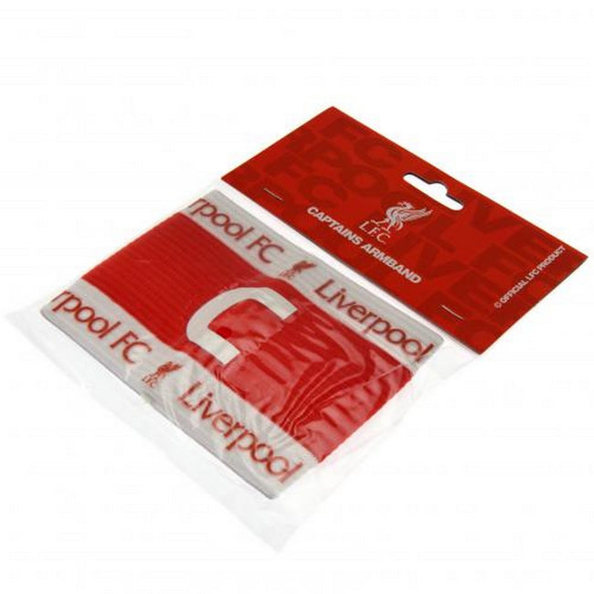 Red-White - Side - Liverpool FC Official Captains Arm Band