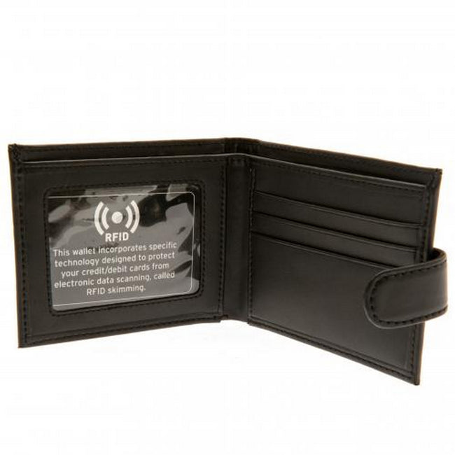 Black - Back - Everton FC RFID Anti Fraud Wallet