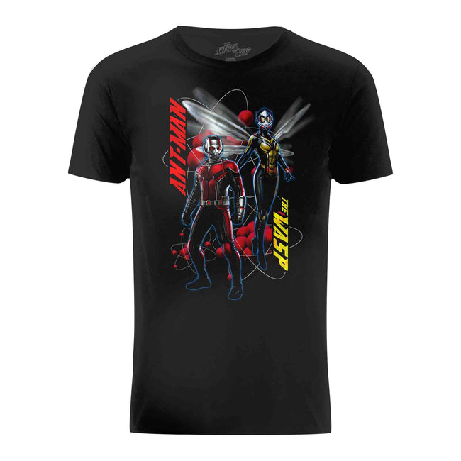 Black - Front - Ant-Man And The Wasp Mens Characters Pose T-Shirt